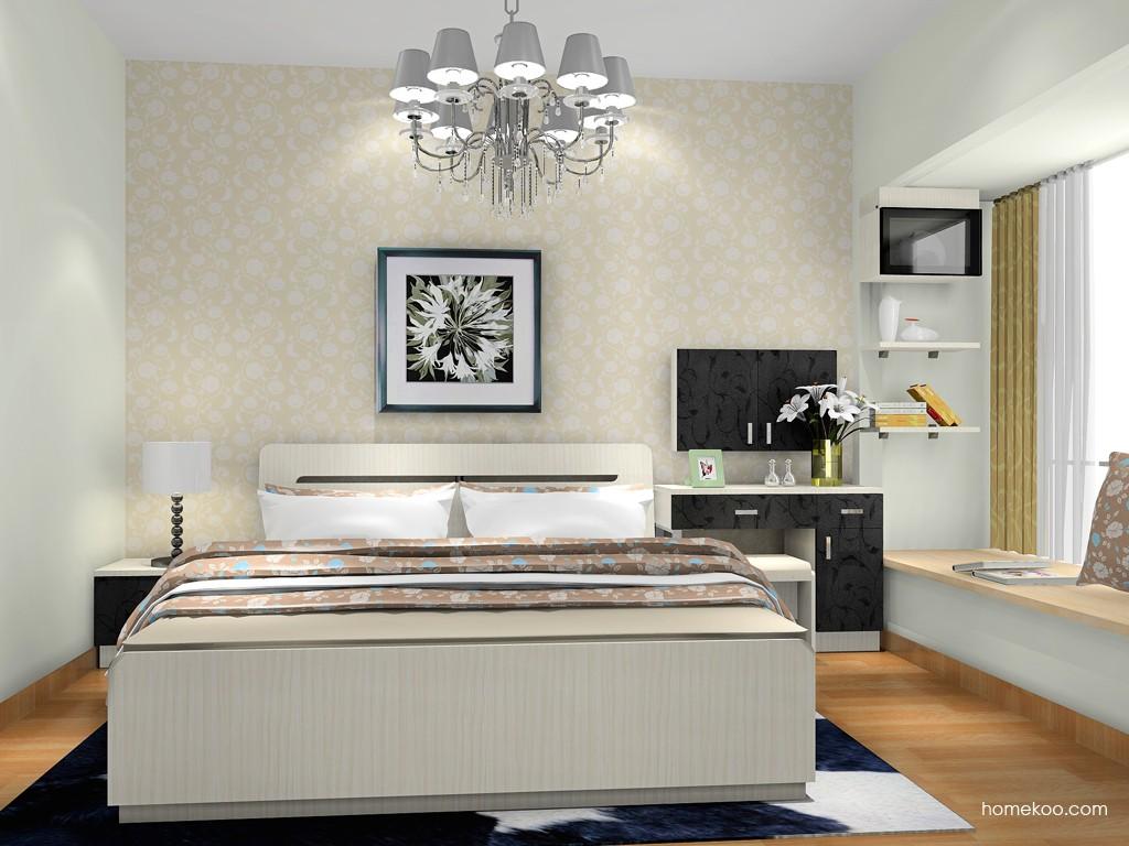 米兰剪影卧房家具A18301