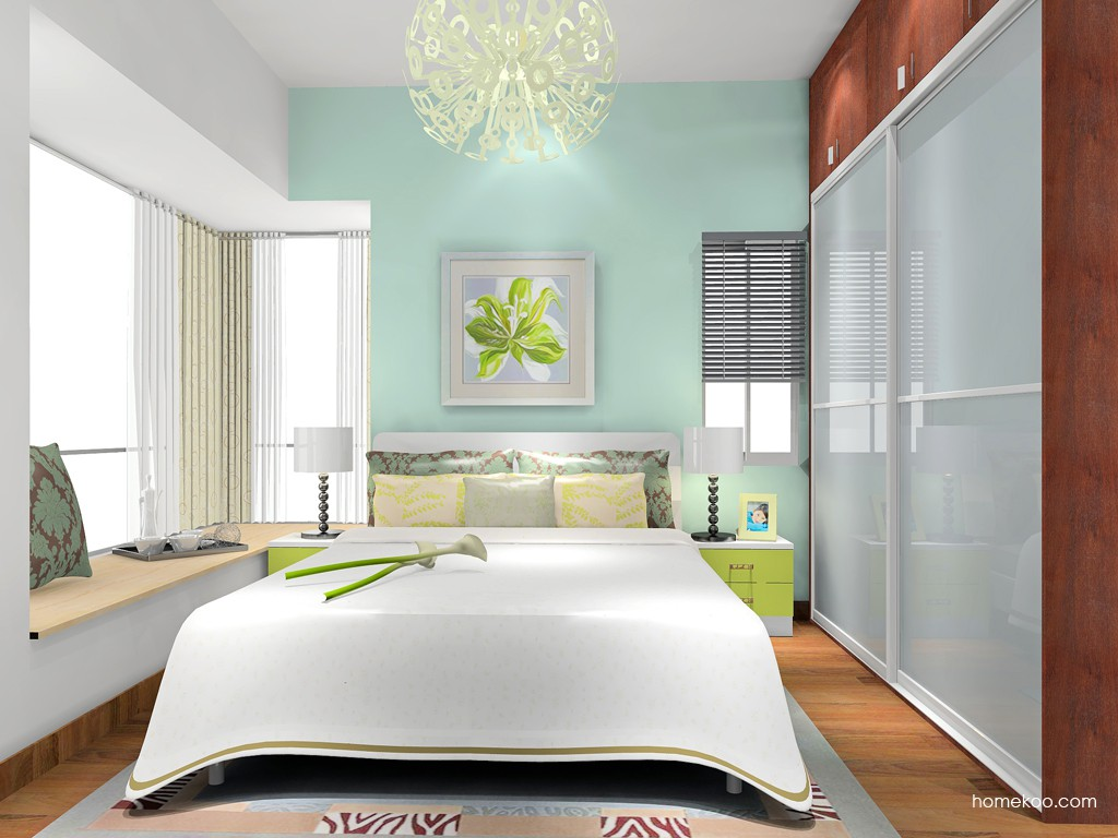 里昂春天卧房家具A18305