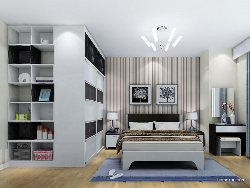 简约主义卧房家具A18313