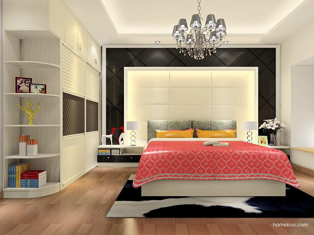 米兰剪影卧房家具A18317
