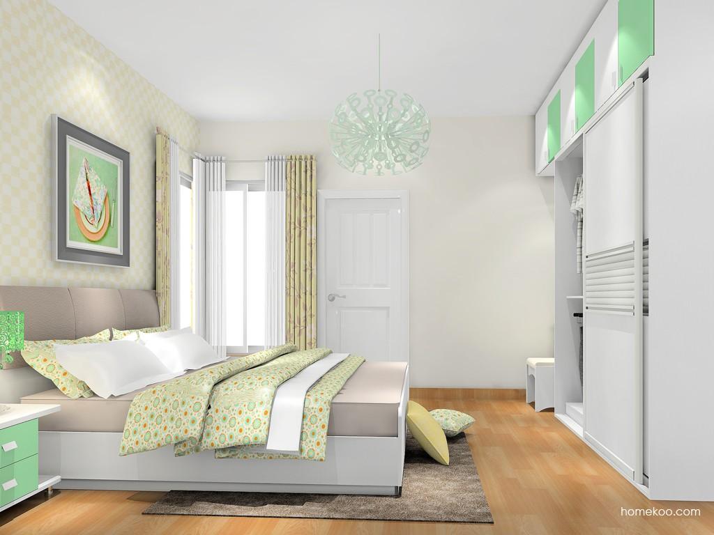 新实用主义卧房家具A18323