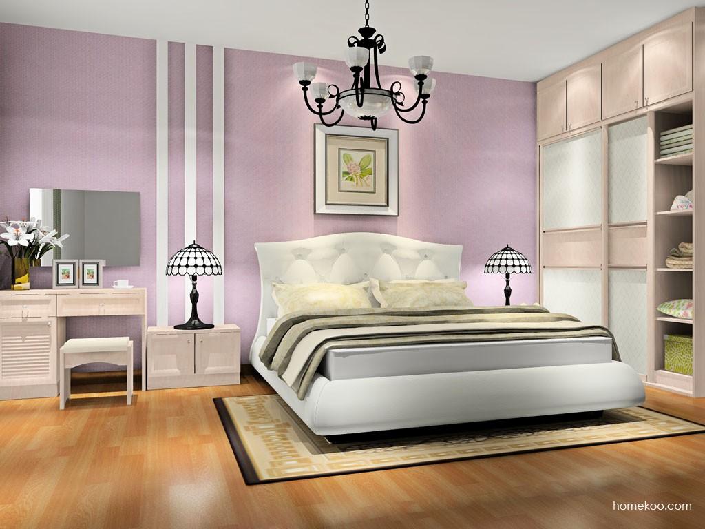 北欧阳光卧房家具A18325