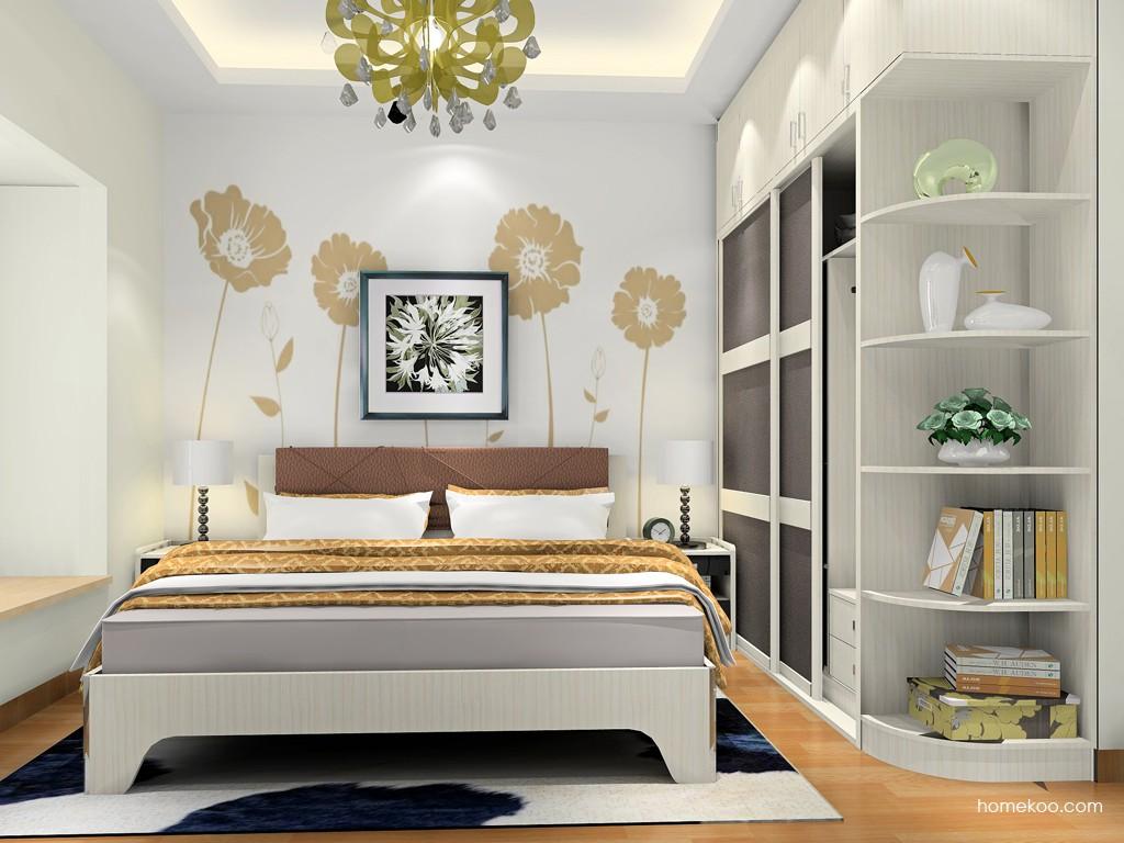 米兰剪影卧房家具A18327