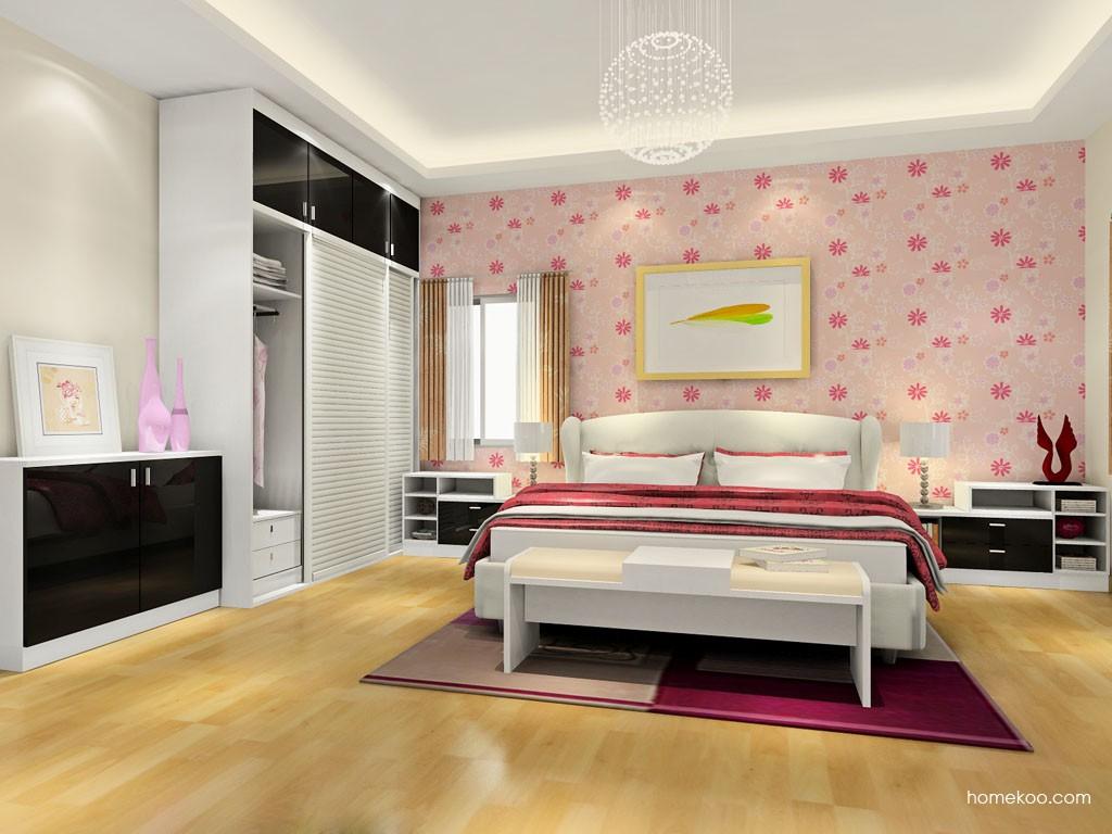 简约主义卧房家具A18328