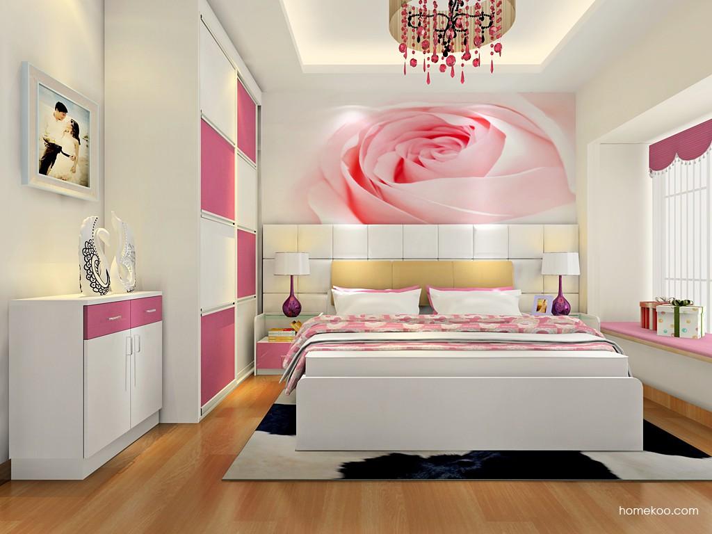 浪漫主义卧房家具A18334
