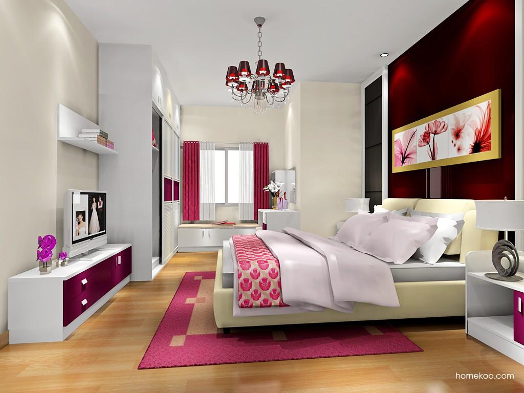 浪漫主义卧房家具A18335
