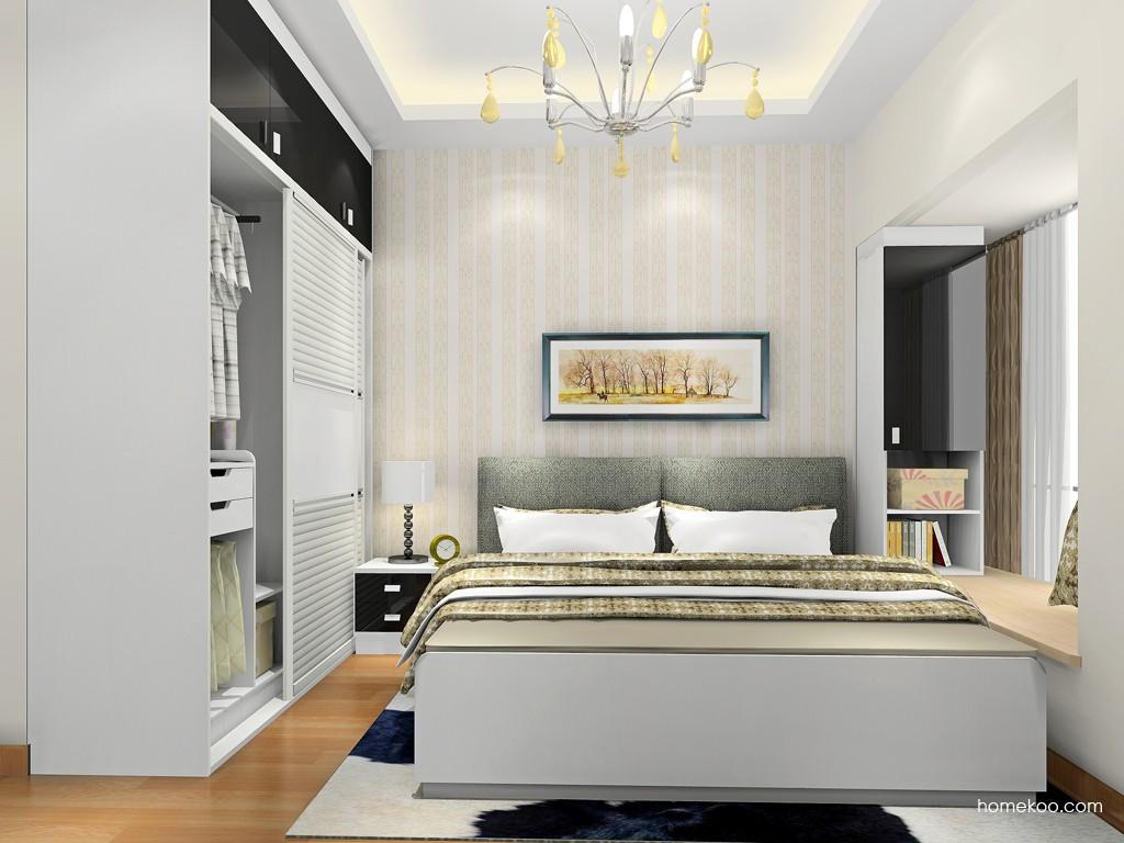 简约主义卧房家具A18339