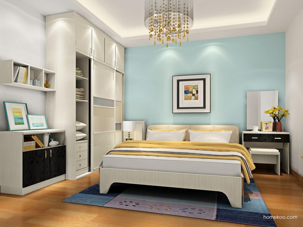 米兰剪影卧房家具A18341
