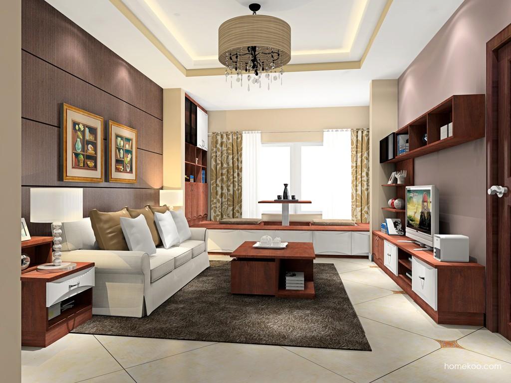 挪威月色客厅家具D16867