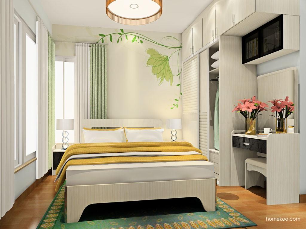 米兰剪影卧房家具A18363