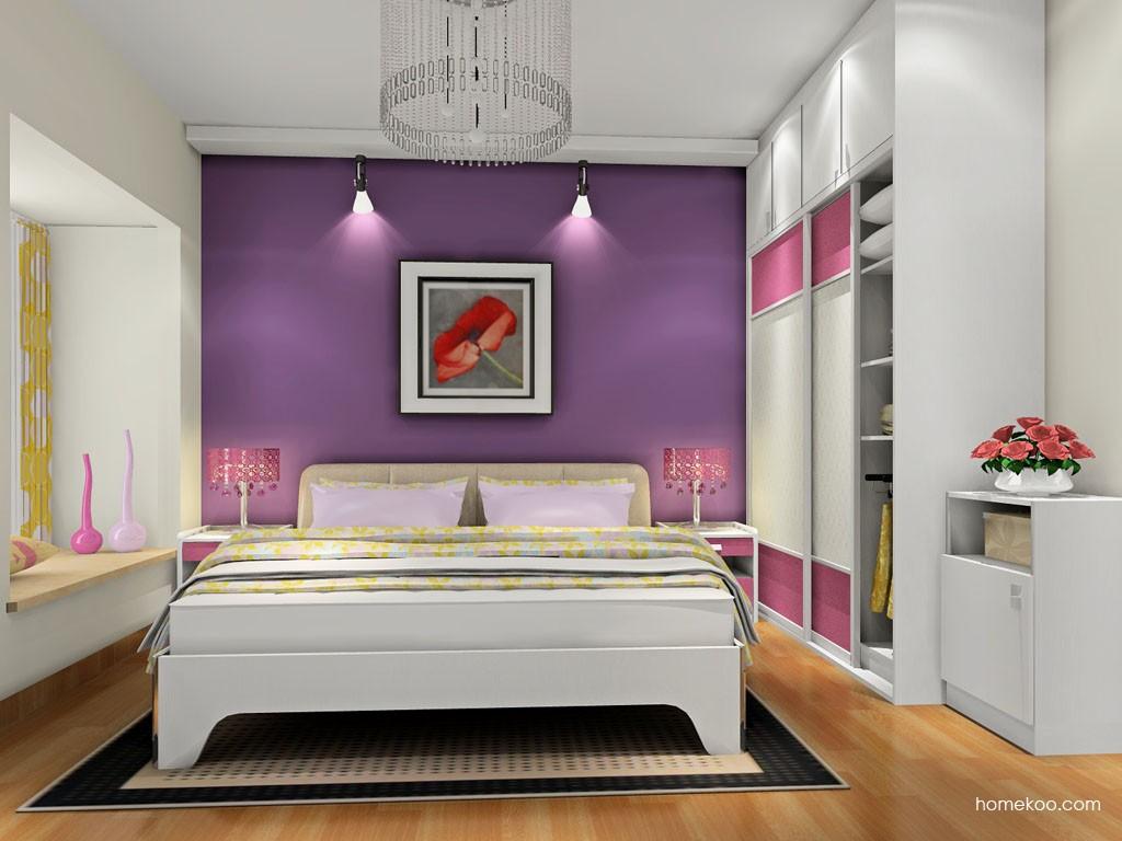 浪漫主义卧房家具A18366