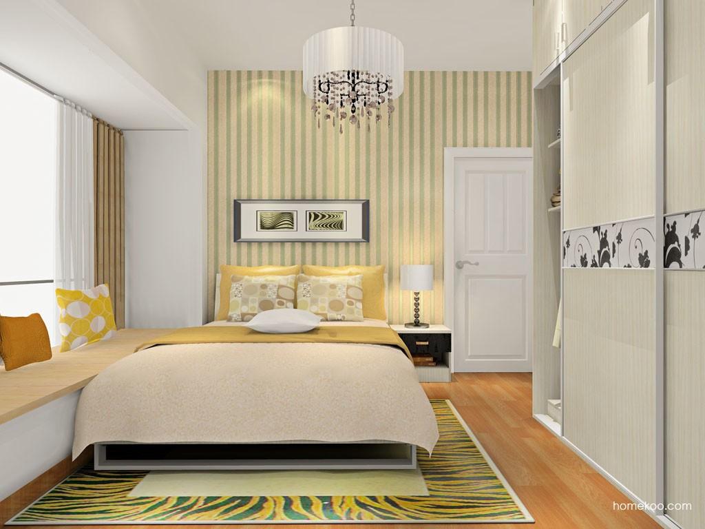 米兰剪影卧房家具A18384