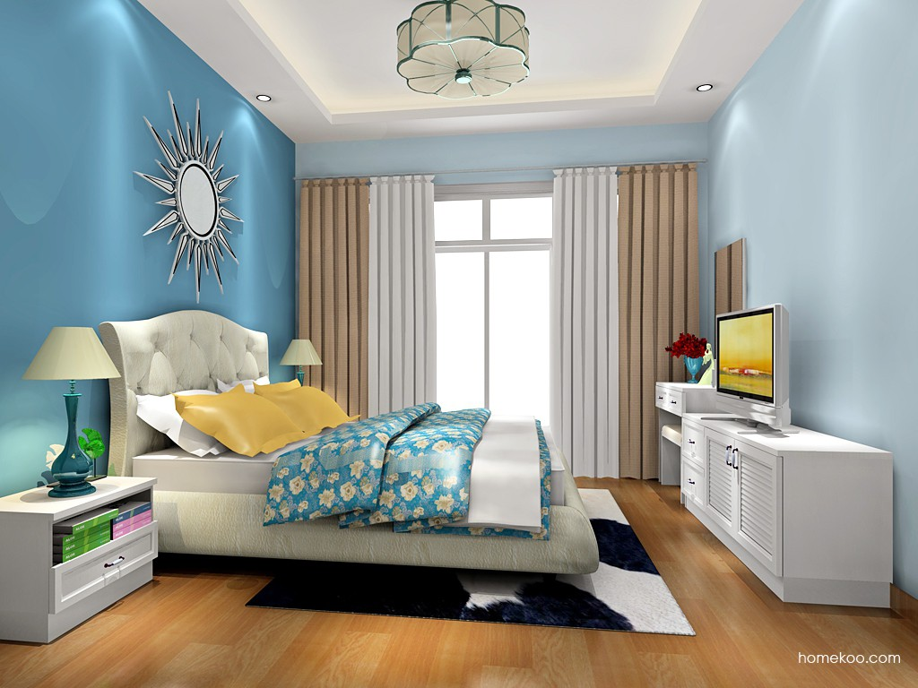 韩式田园卧房家具A18391