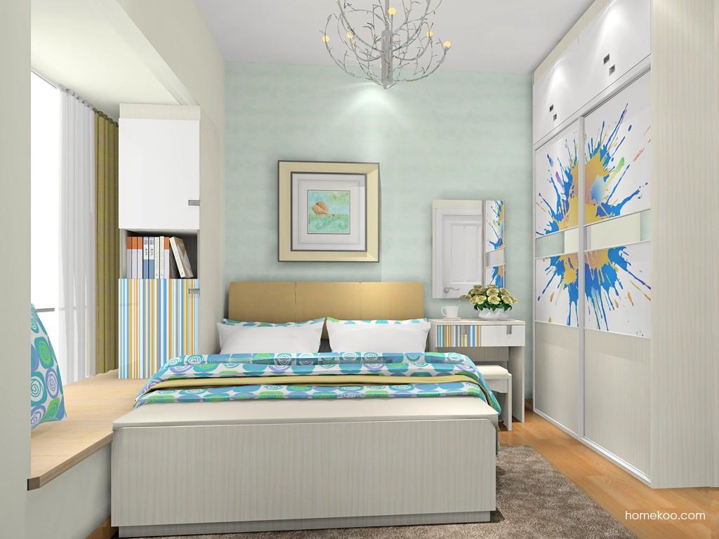 首尔之缤卧房家具A18393