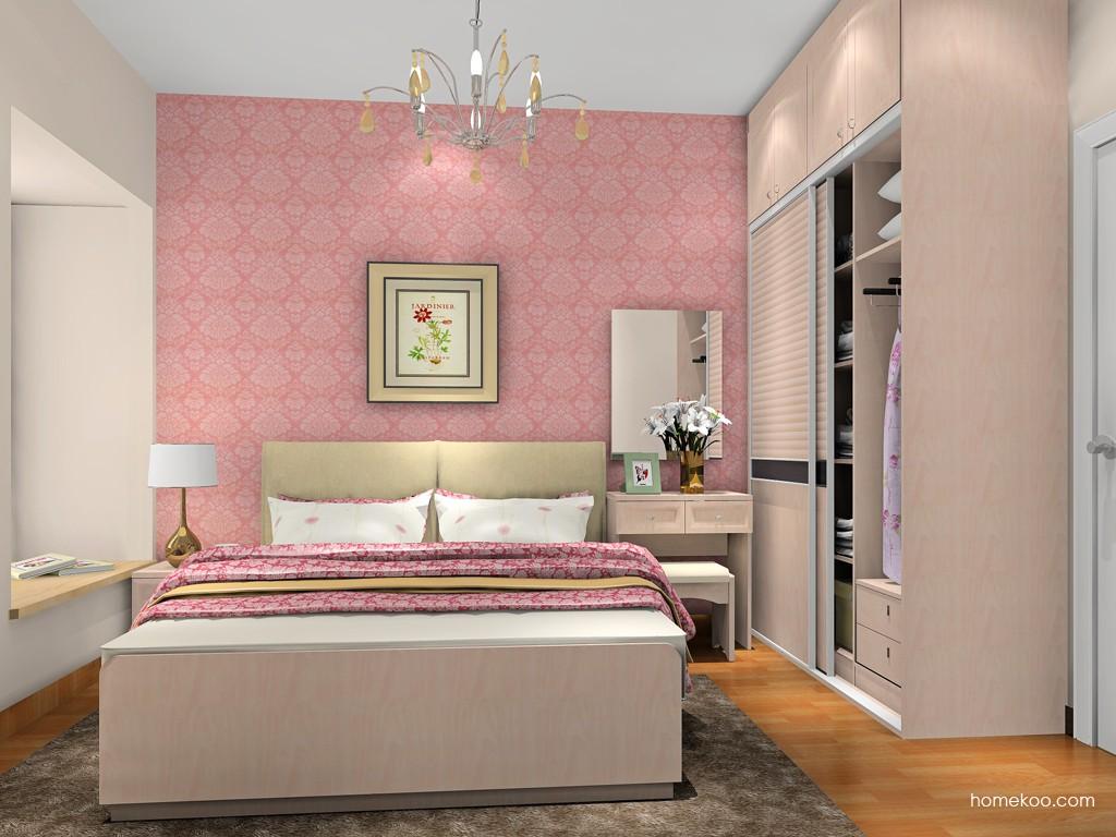 北欧阳光卧房家具A18395