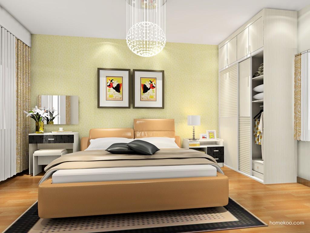 米兰剪影卧房家具A18396