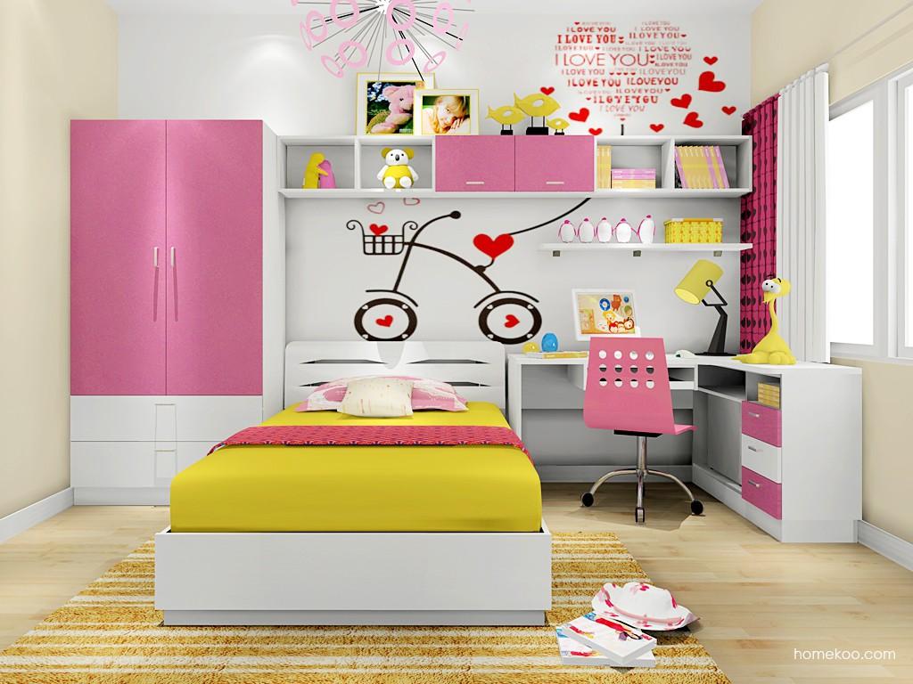 女孩的梦青少年房B18689