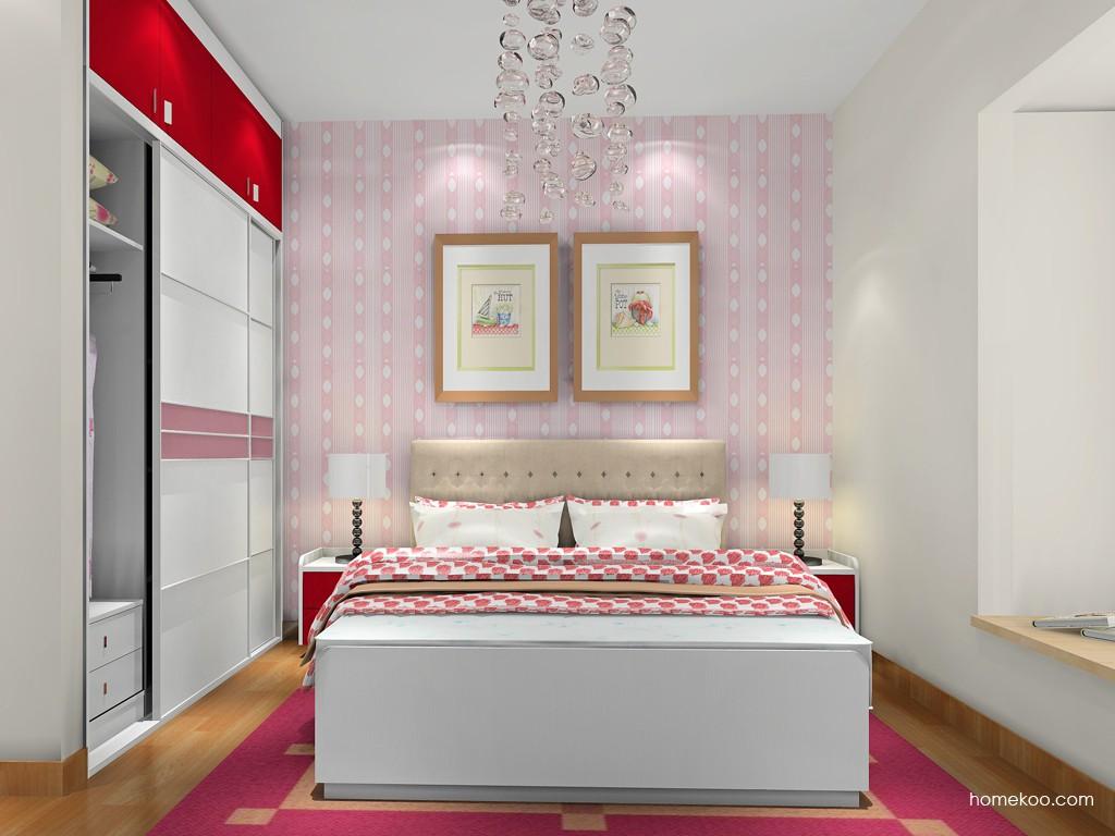 浪漫主义卧房家具A18410
