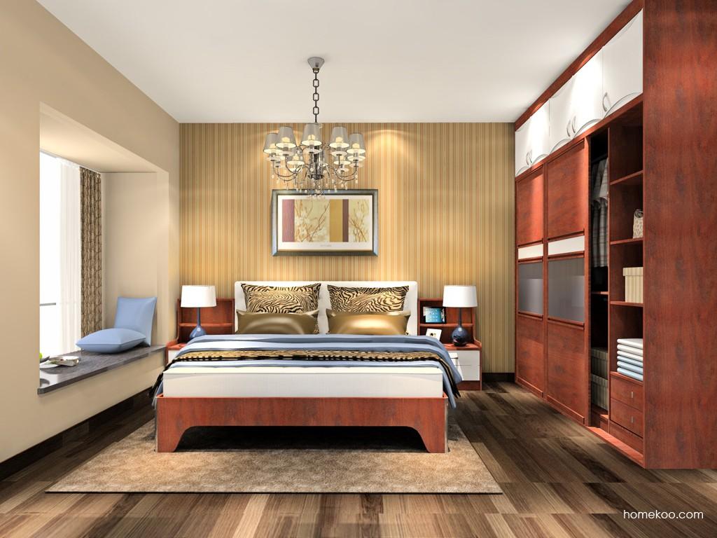 挪威月色卧房家具A18411