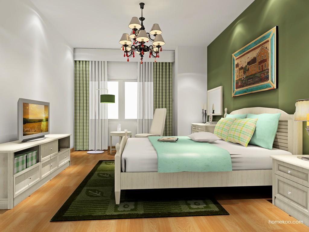 英伦印象卧房家具A18417