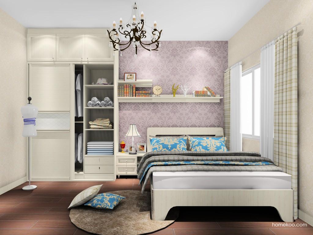 英伦印象卧房家具A18419