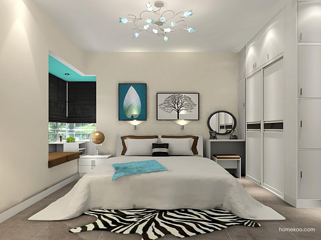 新实用主义卧房家具A18424