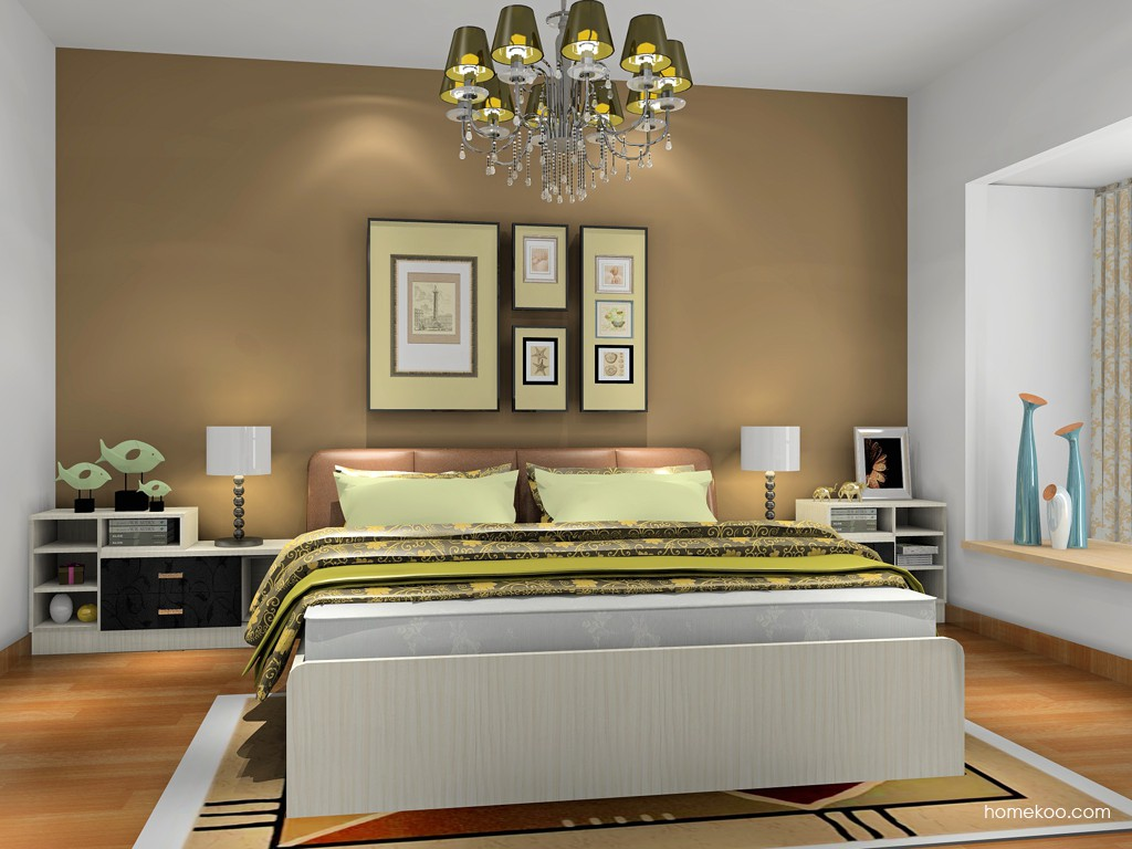 米兰剪影卧房家具A18445