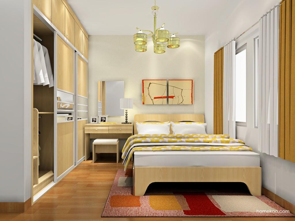 北美枫情卧房家具A18452