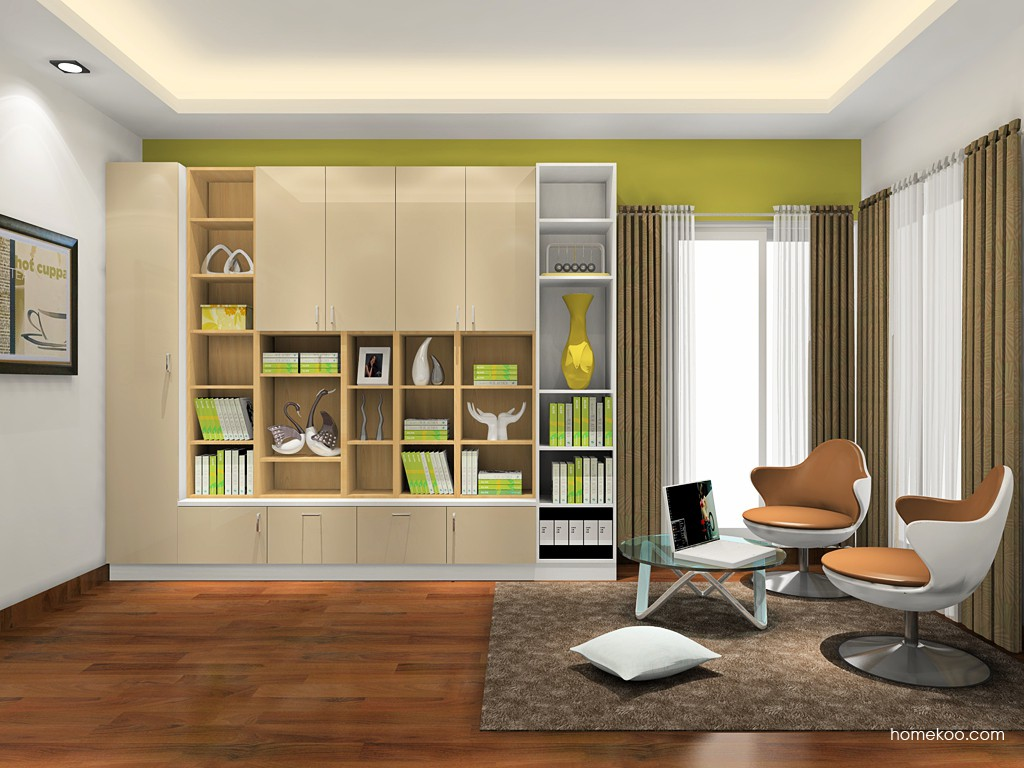 新实用主义书房家具C18682