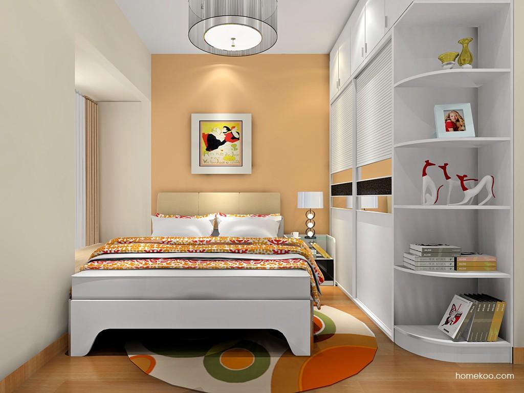 简约主义卧房家具A18457