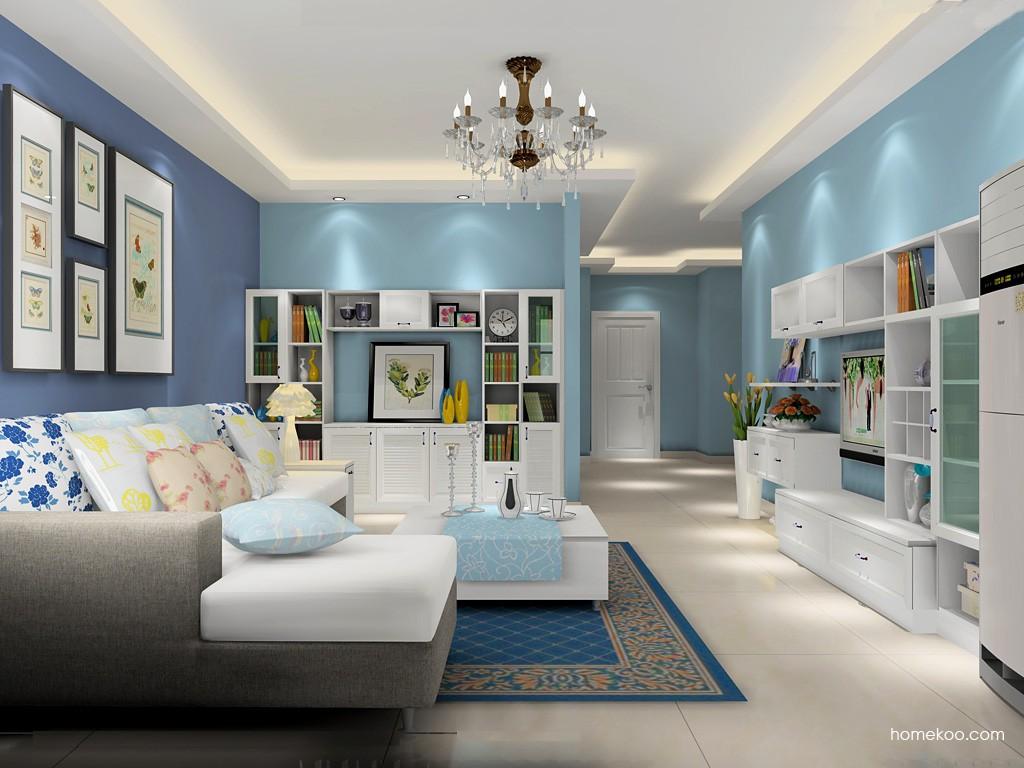 韩式田园客厅家具D16872