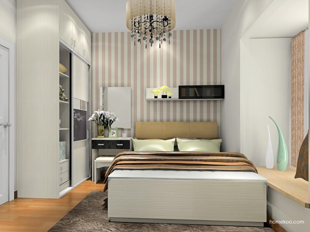 米兰剪影卧房家具A18476