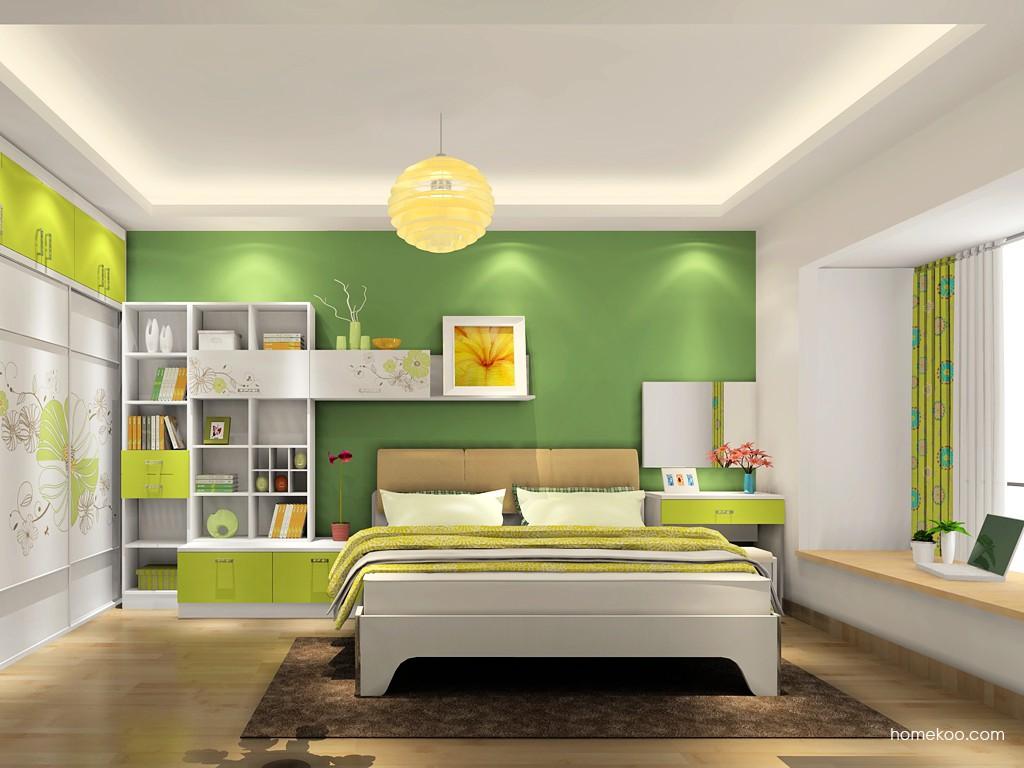 里昂春天卧房家具A18484