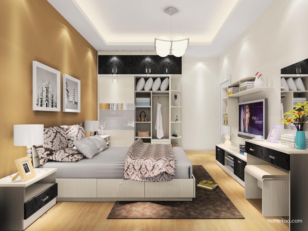 米兰剪影卧房家具A18486