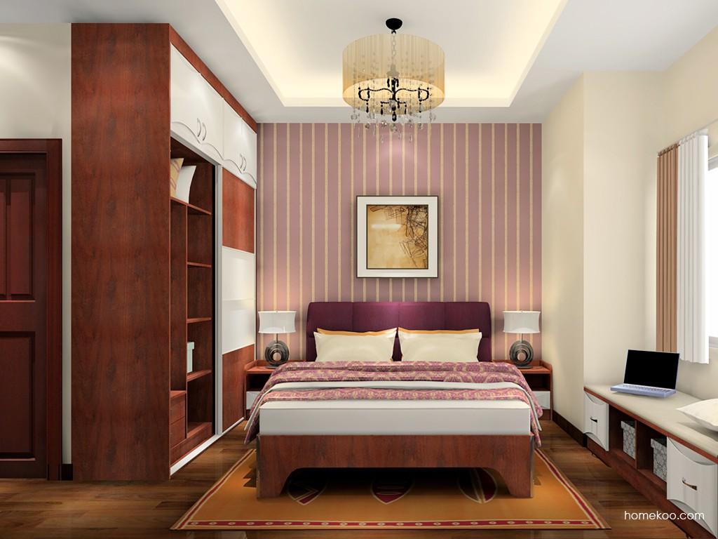 挪威月色卧房家具A18491