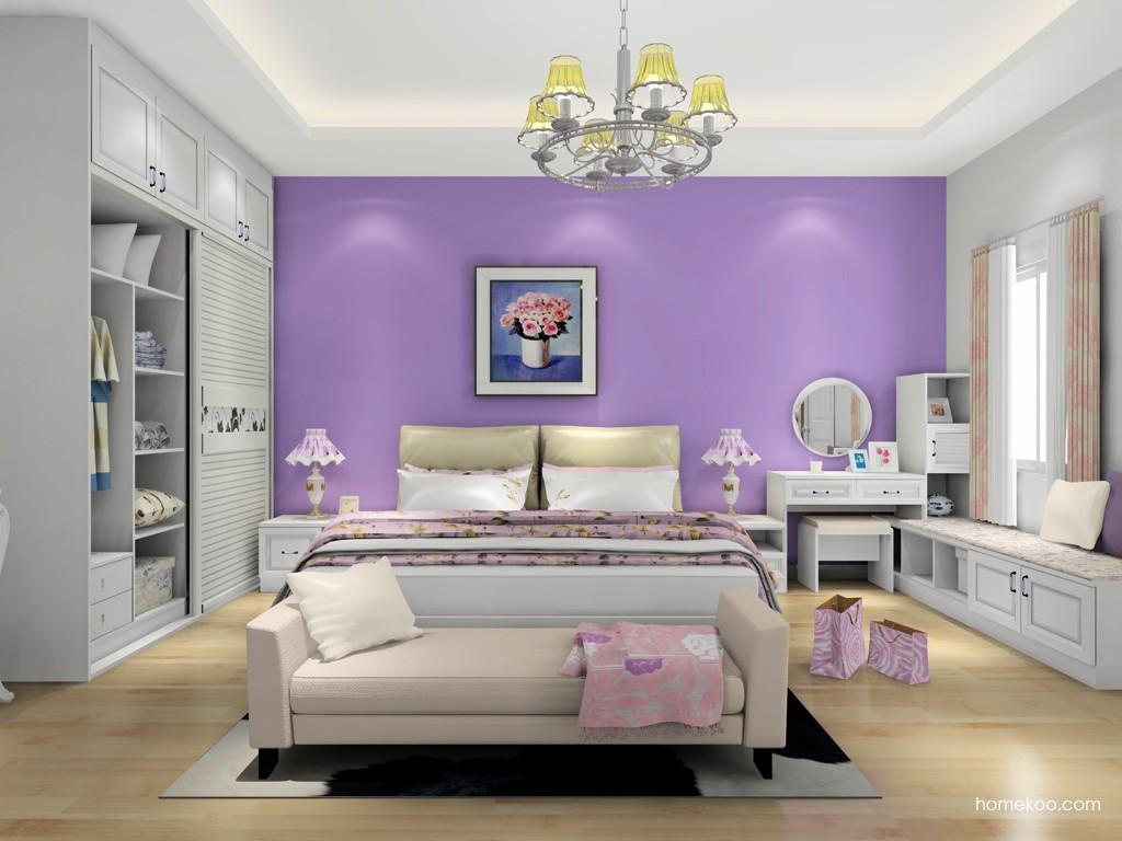 韩式田园卧房家具A18481