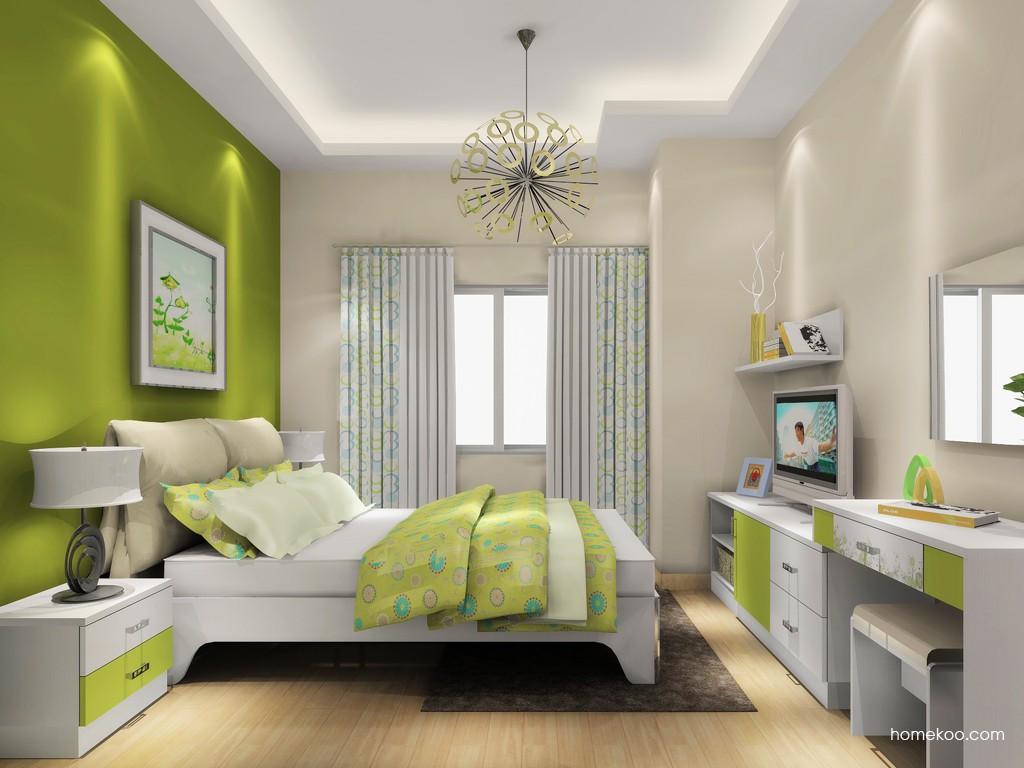 里昂春天卧房家具A18505