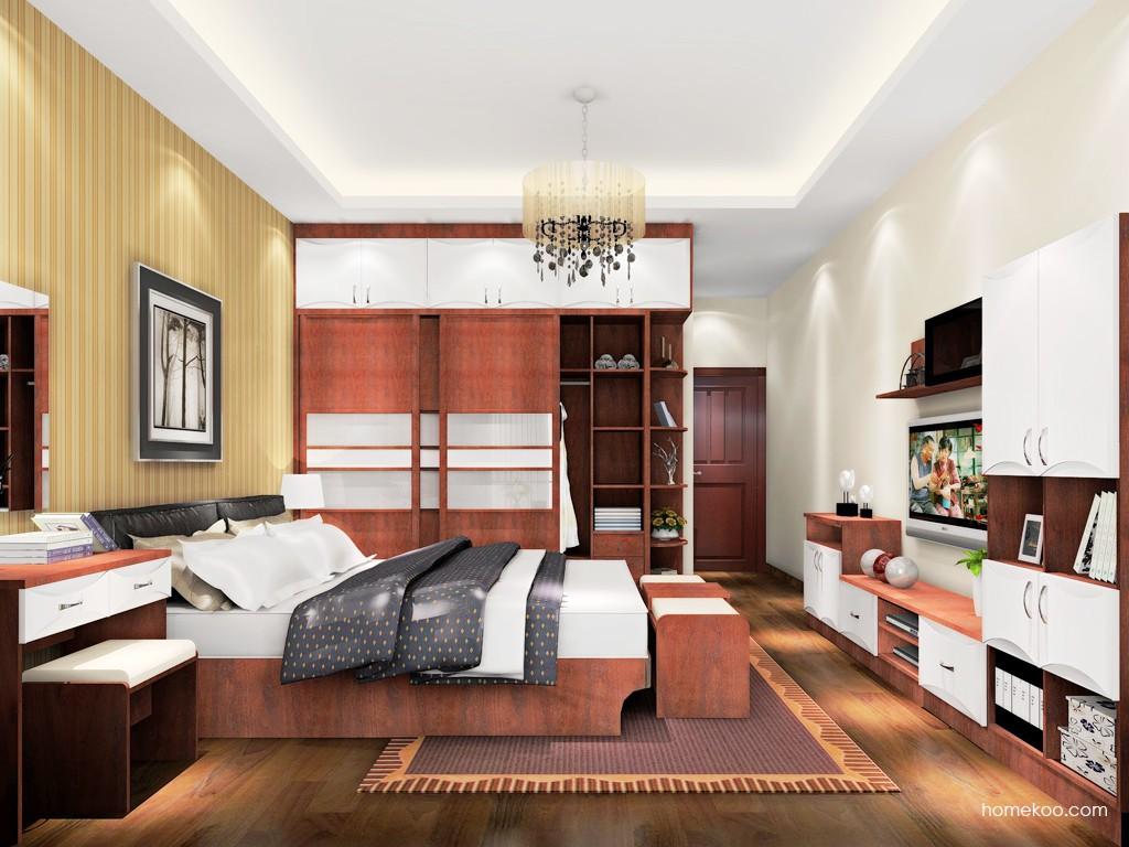 挪威月色卧房家具A18506