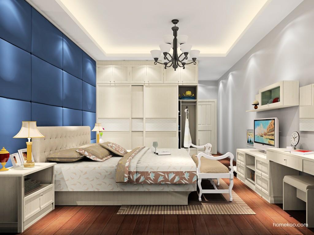 英伦印象卧房家具A18507