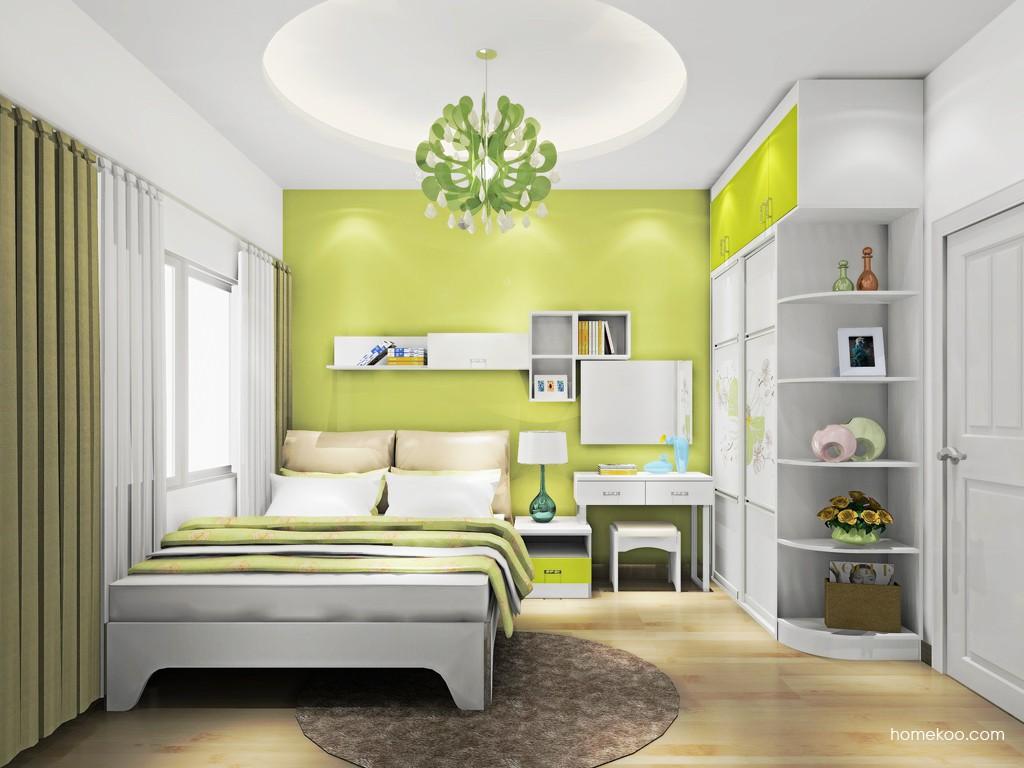 里昂春天卧房家具A18509