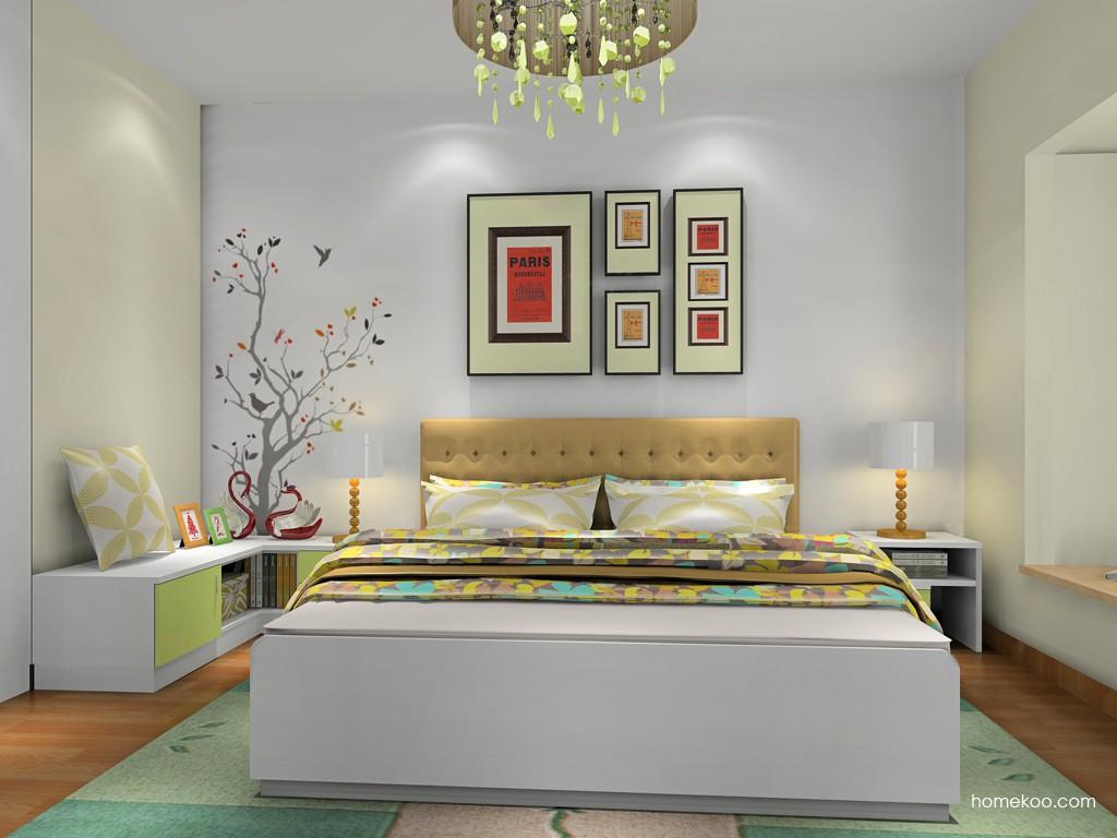 浪漫主义卧房家具A18514