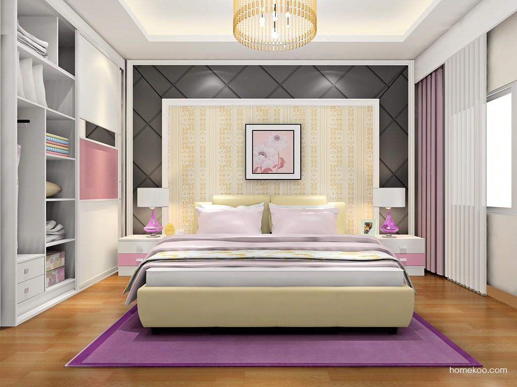 浪漫主义卧房家具A18517