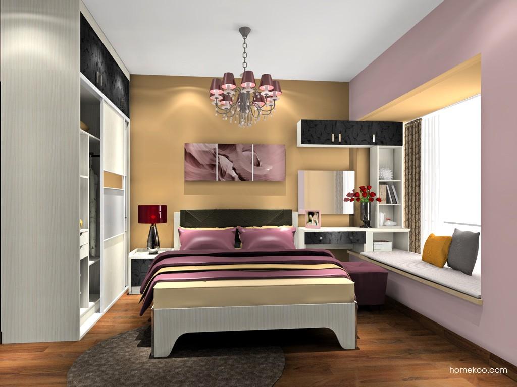 米兰剪影卧房家具A18518
