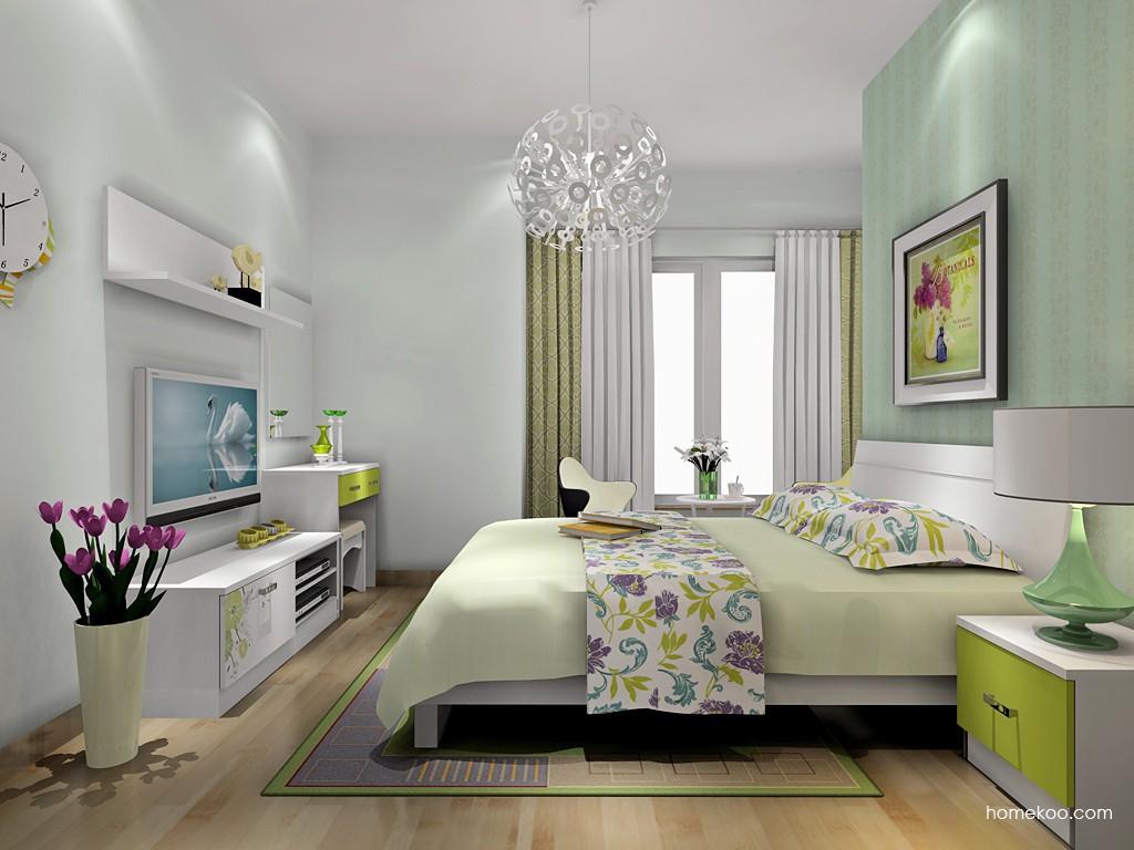 里昂春天卧房家具A18524