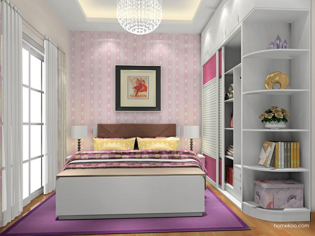 浪漫主义卧房家具A18529