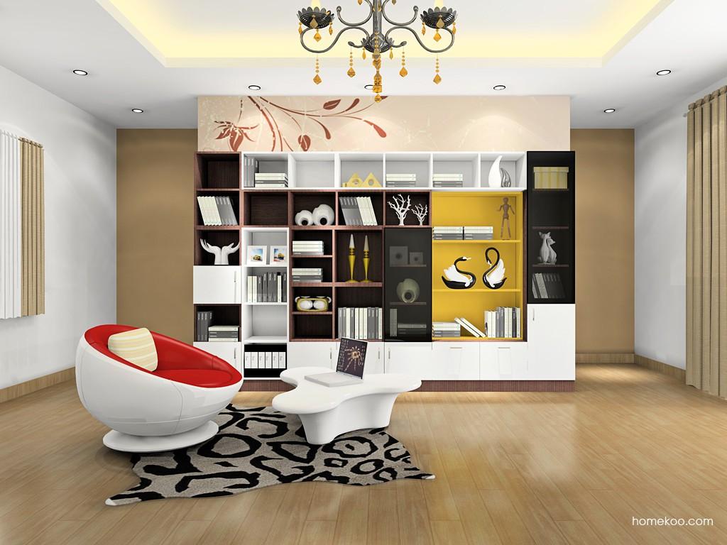 新实用主义书房家具C18718