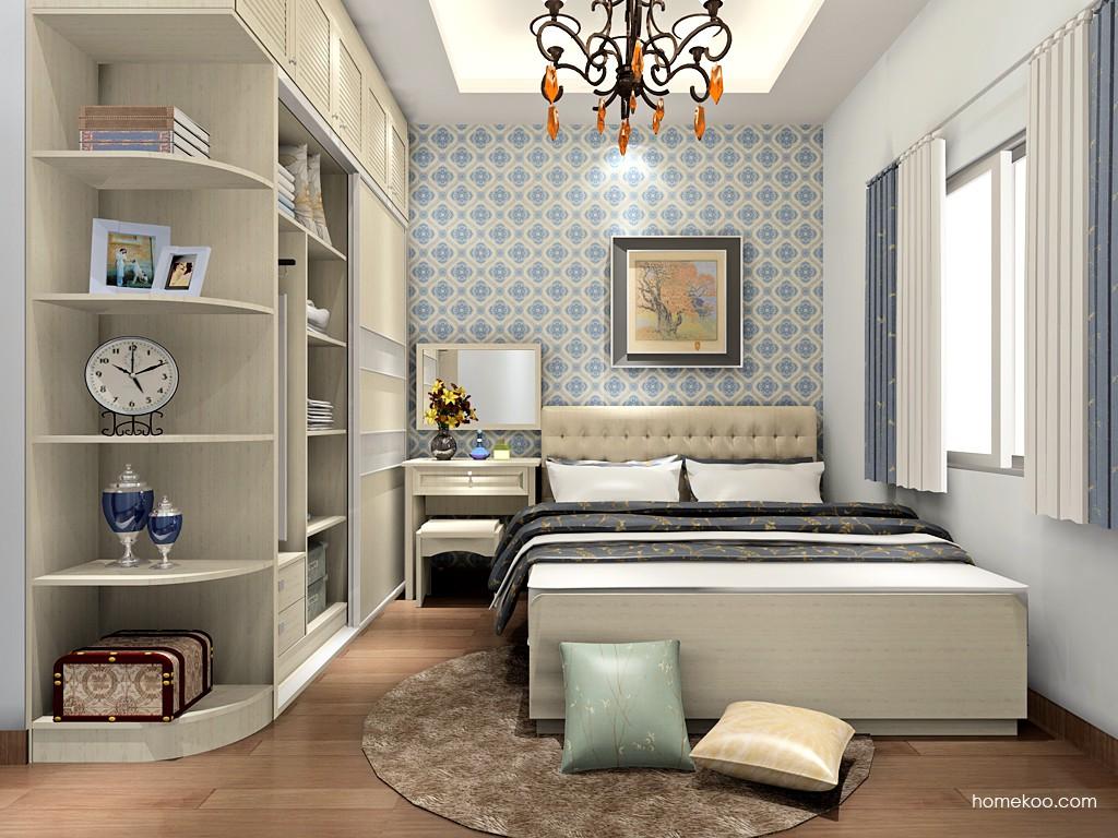 英伦印象卧房家具A18534