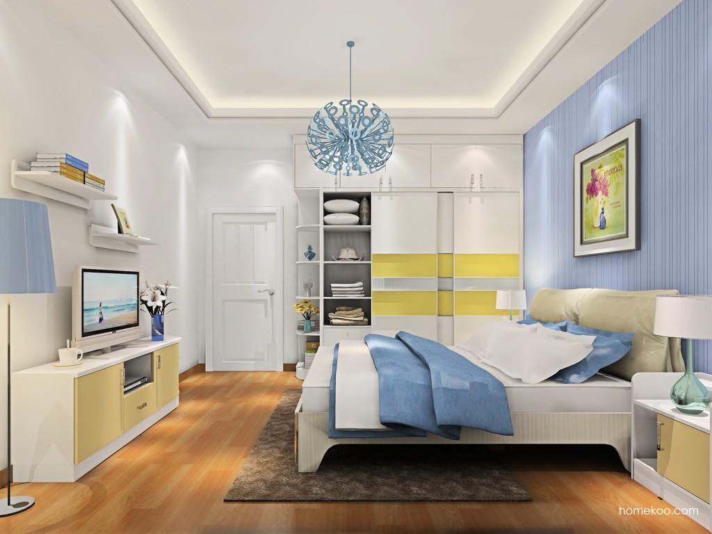 新实用主义卧房家具A18543