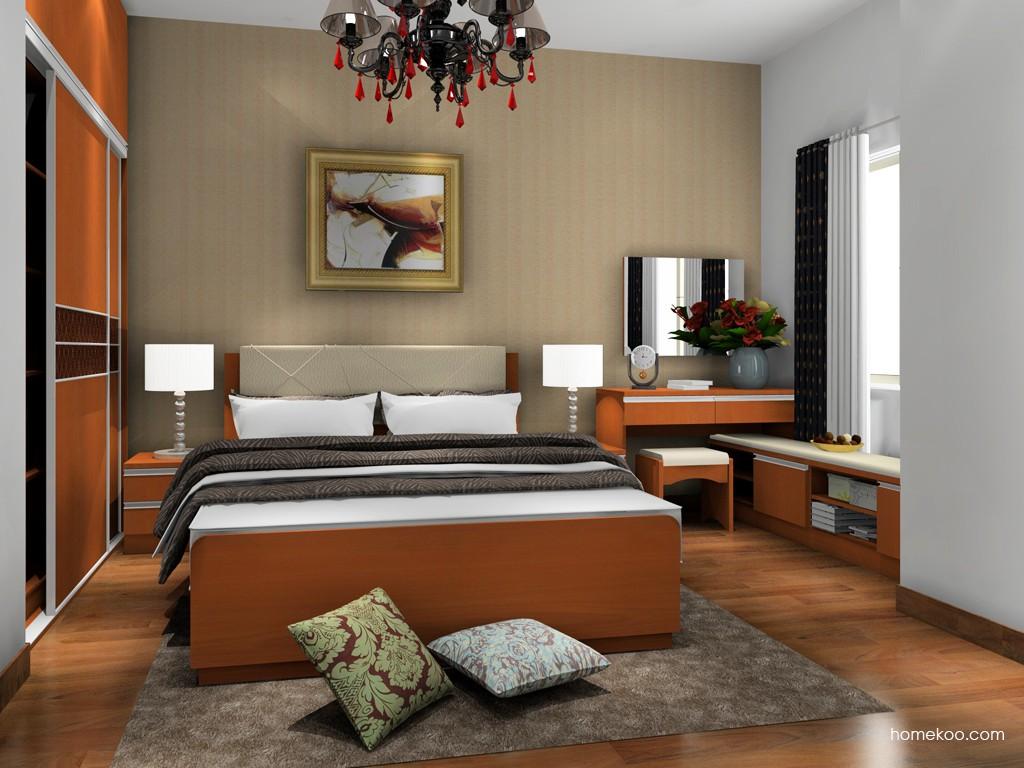加州梦卧房家具A18546