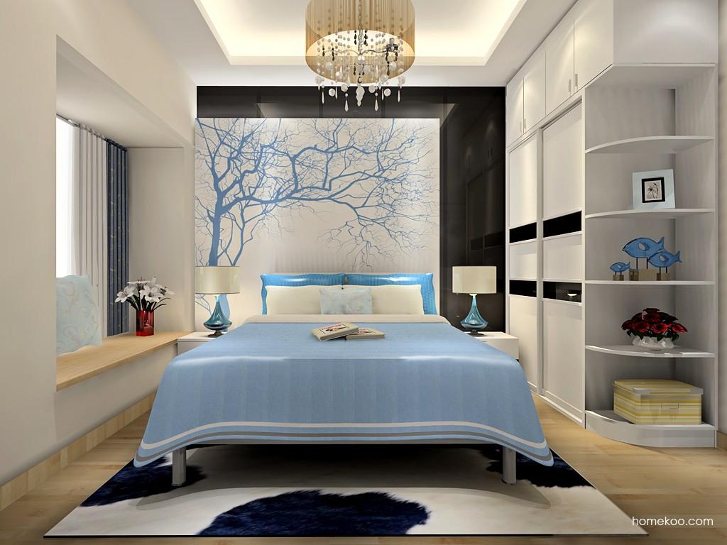 简约主义卧房家具A18565